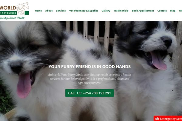 Aniworld-Vet-Clinic-Website-Landing